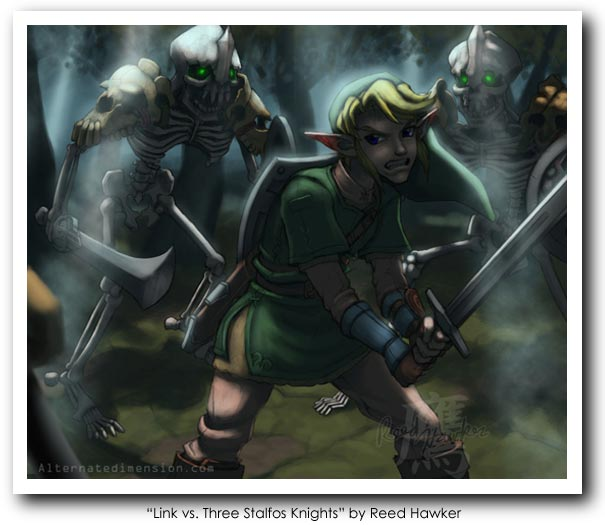Legend of Zelda (Link) Art26