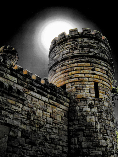 Tower by Moon Light