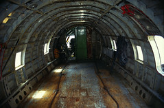 Carnicero Cargo Hold (zerega.andino) Tags: old mountain classic southamerica america plane vintage airplane geotagged flying high airport amazon ramp traffic empty aircraft altitude aviation transport bolivia meat business piston butcher exotic transportation tropical andes tropic oriente express propeller aeropuerto lapaz americas andino prop forward airliner deliver commando cordillera altiplano puno carnicero curtiss c46 lowland elalto aeronautic theandes sudamérica suramérica américadelsur cargohold carnoceros
