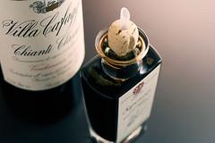 En exklusiv flaska balsamvinäger