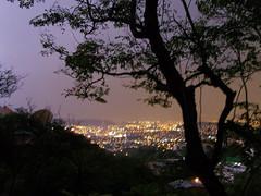 Vista desde mi casa (  ) Tags: storm silhouette night view natural figure tormenta vista silueta sanpedro bluelist