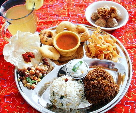 Festival food Thali