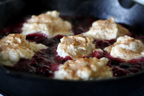 Warm Berries and Dumplings