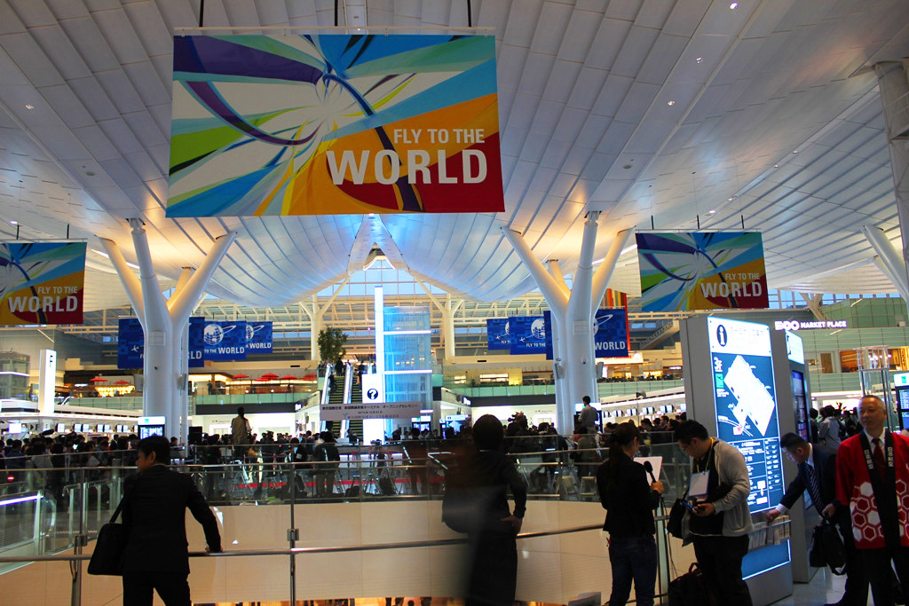 Haneda Airport became larger, and internationalized in earnest (1)