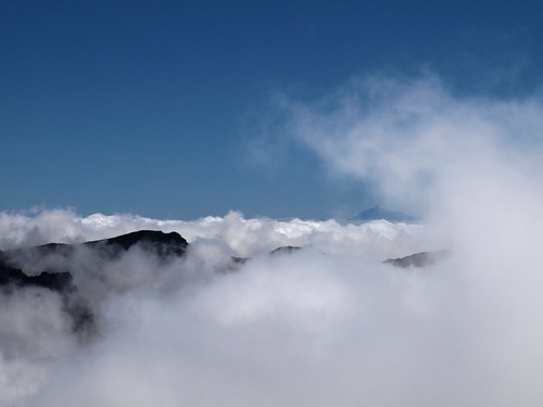 Clouds and Tenerife