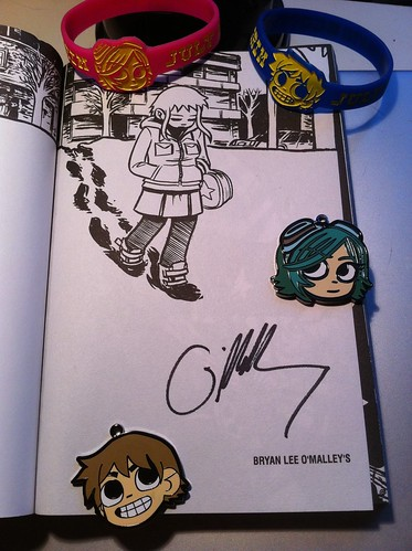 Scott Pilgrim Swag from Oni Press!