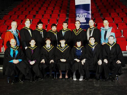 Class Group Photo - Graduation 2010