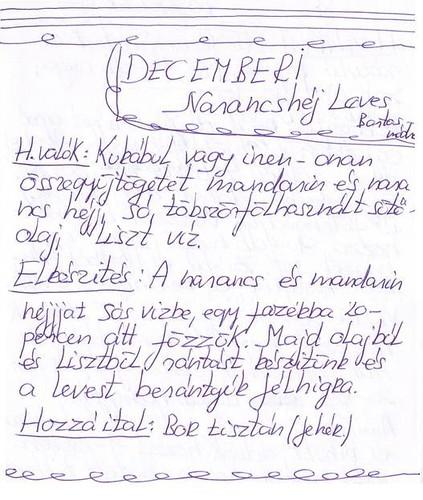 07 decemberi narancshéj leves