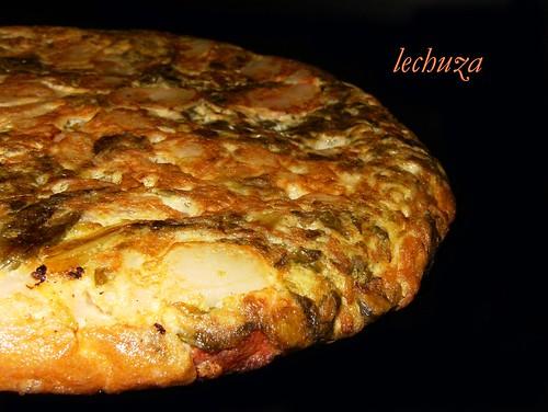 Tortilla de grelos-detalle.