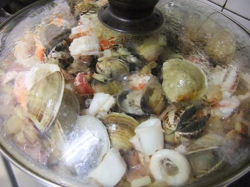 西班牙海鮮燉飯 034