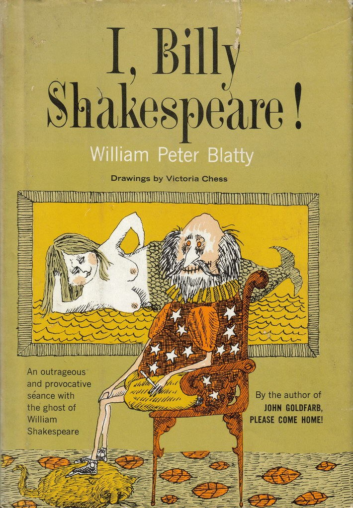 I, Billy Shakespeare by William Peter Blatty front cover