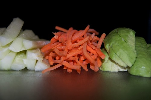 Sushi guts