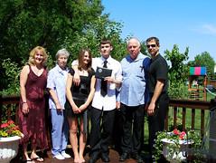 Graduation Day (noyesa) Tags: people me parents diploma sister graduation deck grandparents graduationday
