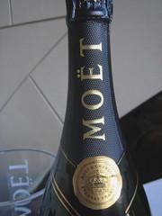 Moet Champagne Foil Wrap