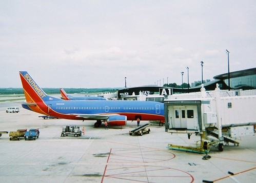 Southwest Airlines 737s at BWI Airport