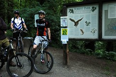 PUMP's Forest Park mountain bike tour