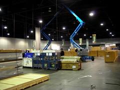 NECC Set-Up is Underway