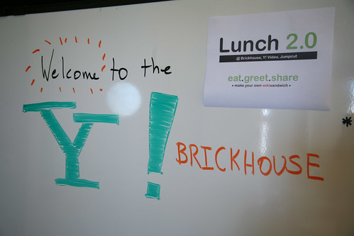 Lunch 2.0 at Yahoo! Brickhouse