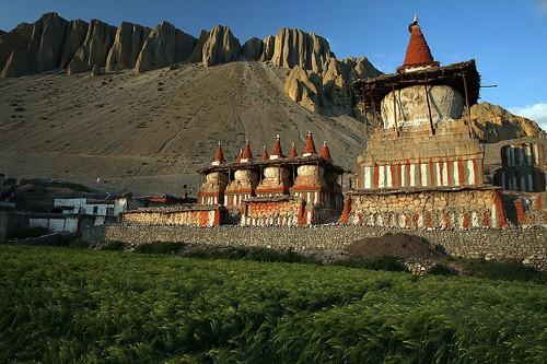 Kralovstvi Lo Manthang - Tibet!