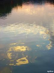 . (naomi ono) Tags: sunset reflection japan tokyo mywinners mywinner 1on1reflections