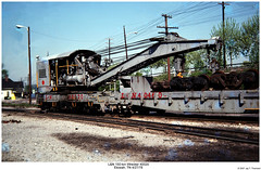 L&N Wrecker 40020 (Robert W. Thomson) Tags: railroad train tennessee railway trains mow ln wrecker etowah louisvillenashville wreckingcrane maintenanceofway