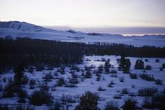 Conway Summit Sunset (Bodie Bailey) Tags: california winter sunset snow landscape roadtrip kodachrome highsierras 395 highway395 canonf1 conwaysummit splendiferous excellentphotographerawards