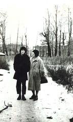 Георгий Янушевич и Маргарита Янушевич na dorozhke Jan 1962 (George Yanushevich) Tags: george rita маргаритаянушевич георгийянушевич