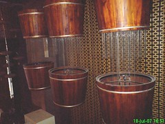 Large water buckets