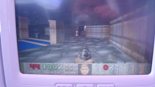 Doom on a plane!