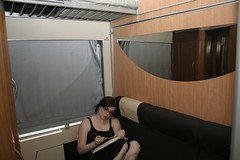 Our train room back to paris