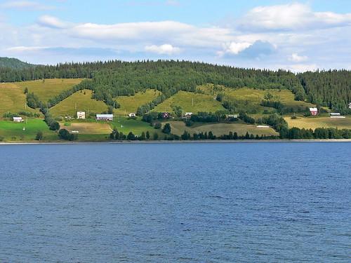 Stora Blåsjön, Sweden