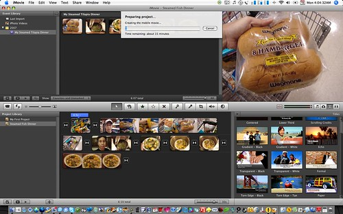 Editing in iMovie 7 feels weird...