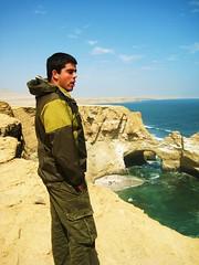 Paracas, Per (141) (alfredob) Tags: kite peru la catedral surfing guillermo julio carrillo ica pisco 2007 paracas rocosas formaciones