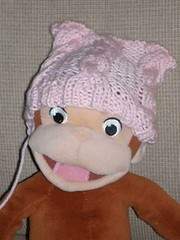 Pink Cable Hat