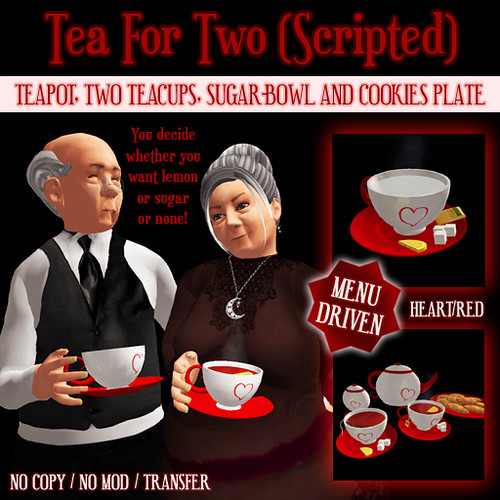 Tea For Two Box