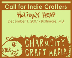 Call for Vendors! (Fort Cloudy) Tags: maryland baltimore apply awesomeness craftshow charmcitycraftmafia holidayheap