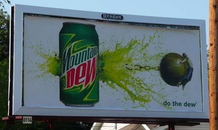 Bad Ad From Mountain Dew from Flickr