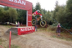 UCIFtBillDH25 (wunnspeed) Tags: scotland europe mountainbike downhill worldcup fortwilliam uci