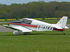 G-ATKX (QSY on-route) Tags: kemble egbp gvfwe greatvintageflyingweekend 09052010 gatkx
