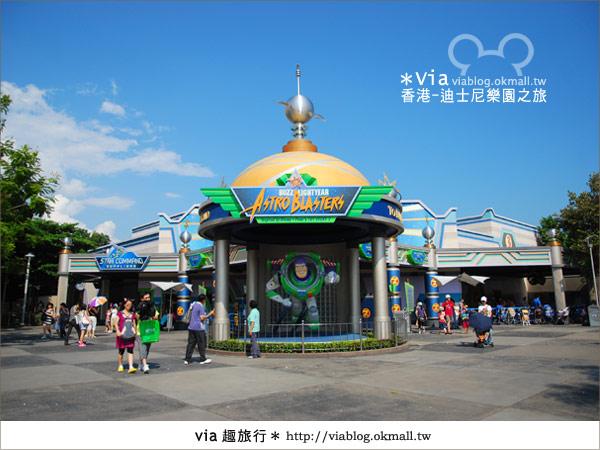 【香港自由行】跟著via玩香港(1)~爆走香港迪士尼樂園27