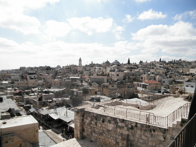 Jerusalem from the ramparts