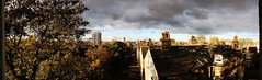 Not a bad view (jefc1111) Tags: rainbow southlondon stormclouds batterseapowerstation