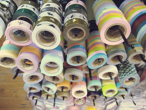 washi tape heaven at collage