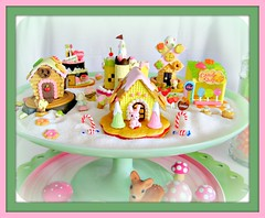 re-ment candy land (Pinks & Needles (used to be Gigi & Big Red)) Tags: houses holiday silly mushroom windmill cookies cake fruit cakestand toys japanese miniature cupcakes strawberry cherries squirrel colorful sweet treats gingerbread sugar deer plastic explore homealone setup playtime rement candycane addiction lollipops decorated puttering 377 icecreamcone kitchencounter ribboncandy candyshop candyhouses gigiminor keepbusy missingchester