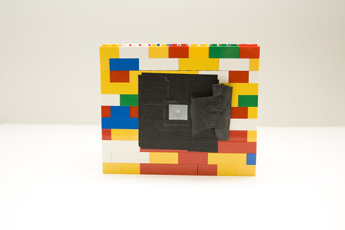 My LEGO pinhole camera