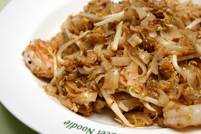 You can pass on the pad thai...