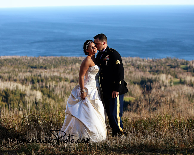 Lutsen Mountain wedding 2
