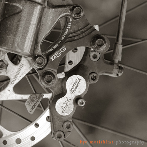Shimano Deore XT BR-M755 4pot Disc Brake Caliper
