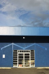 Closed Auto Parts Store