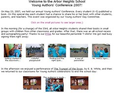 Young Author's Conference, 2007